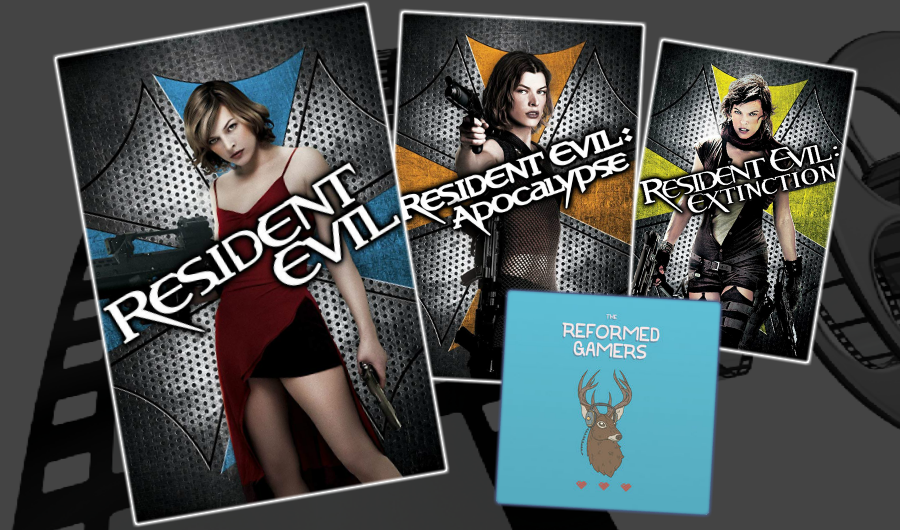 The Reformed Gamers Christian Podcast and Cinematic Doctrine talk Resident Evil Movies