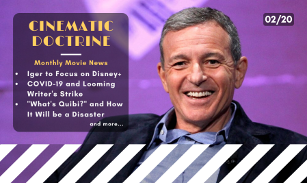 Bob Iger steps down as CEO to focus on Disney Plus and the CinDoc Podcast talks