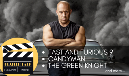 The Cinematic Doctrine Christian Podcast talks Movie Trailers Fast 9 Candyman The Green Knight