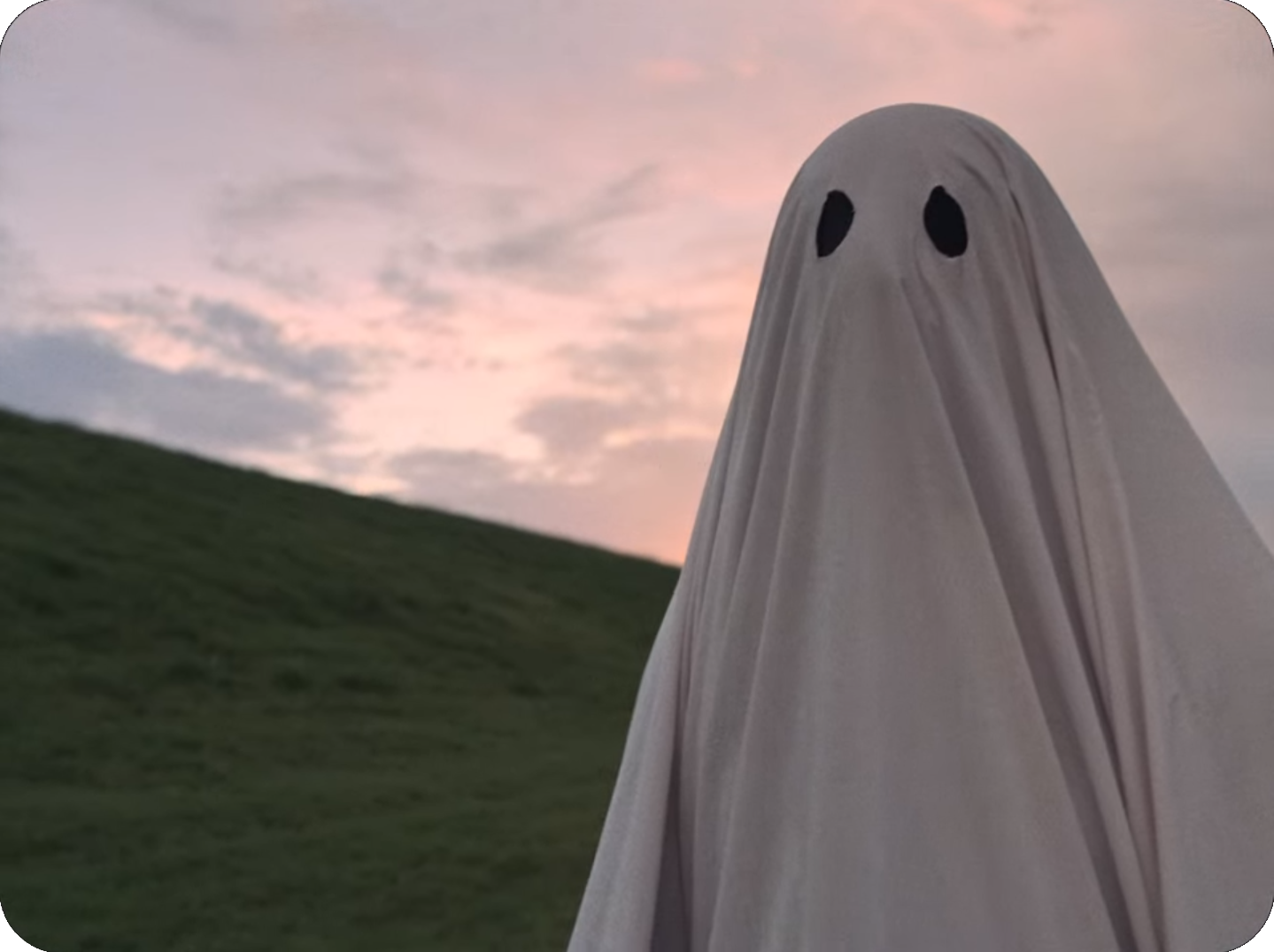 Christian Movie Podcast Cinematic Doctrine talks David Lowery A Ghost Story starring Casey Affleck Rooney Mara