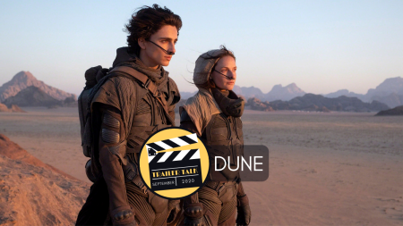 Dune Timothee Chalamet and Rebecca Ferguson in Dennis Villeneuve sci-fi epic on Cinematic Doctrine Christian Podcast