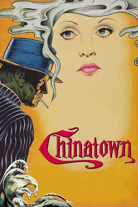 Chinatown cover Jack Nicholson Faye Dunaway favorite movie of Carter Bennett Cinematic Doctrine