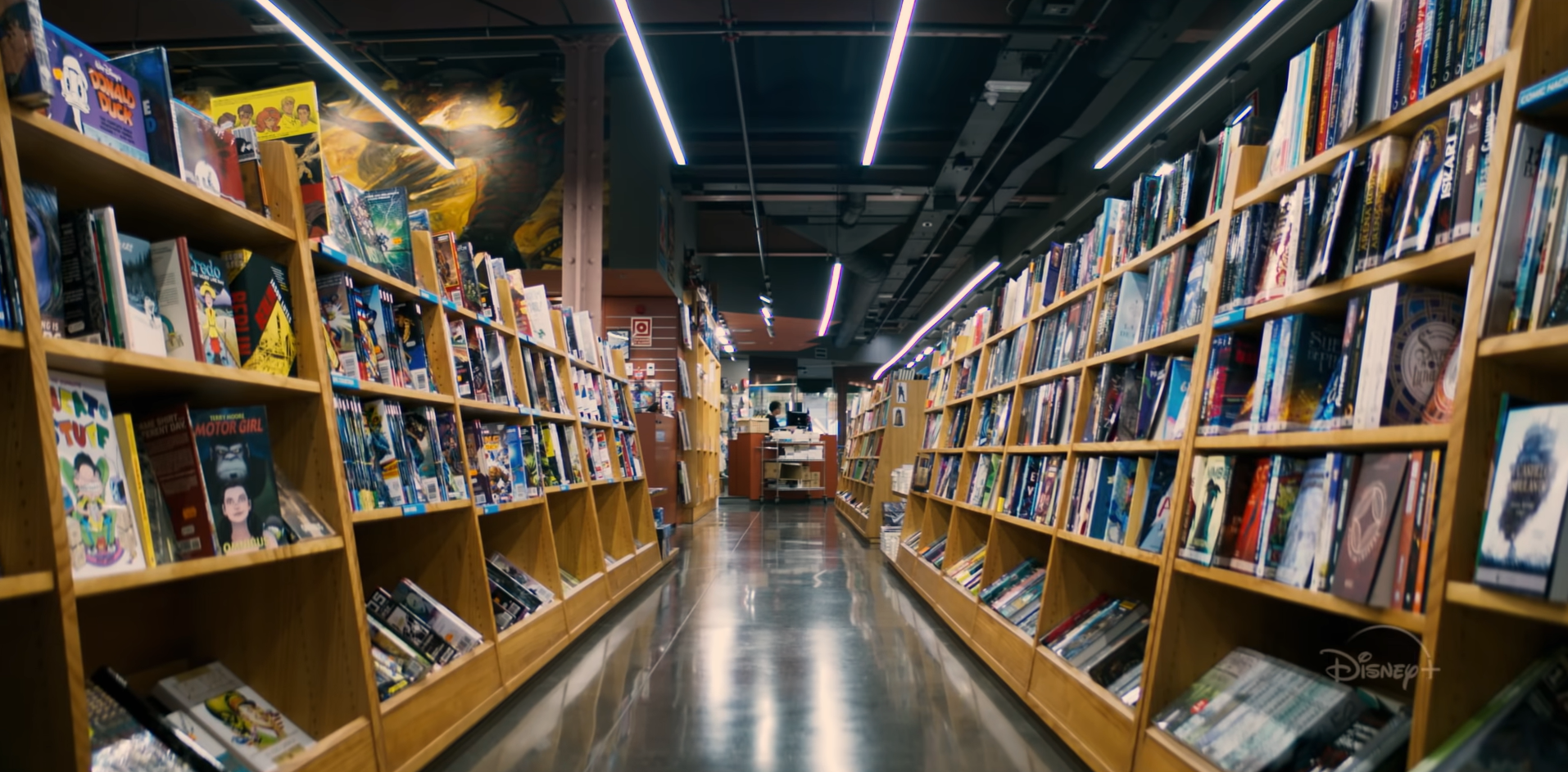 Comic Book Shop in Marvel's 616 series on Disney Plus on Christian Podcast Cinematic Doctrine