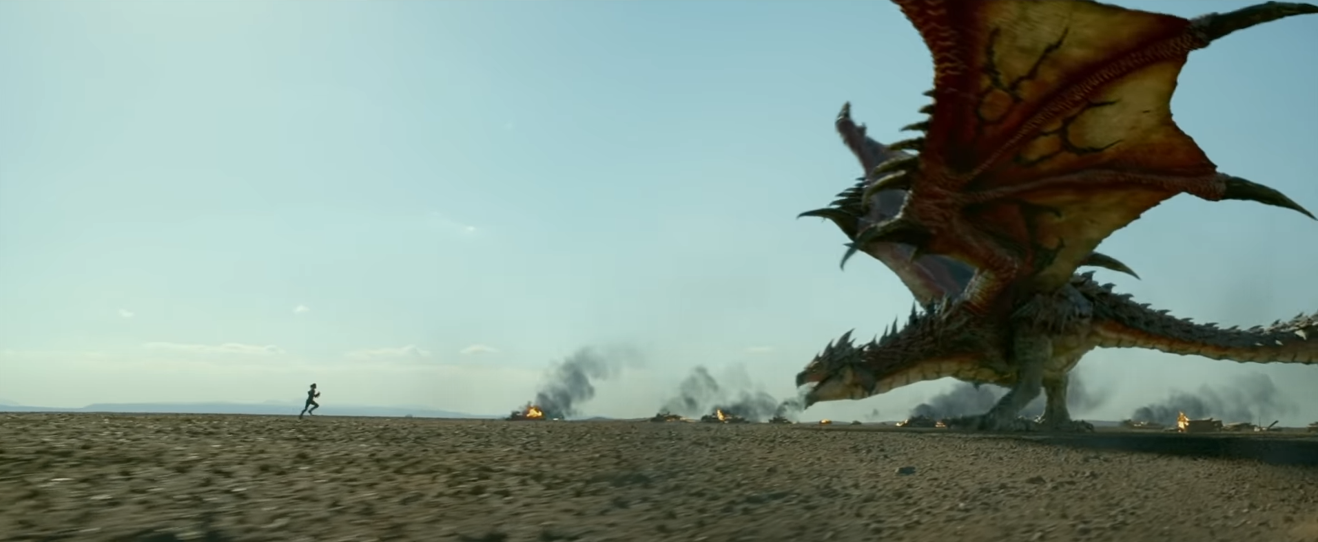 Dragon Creature from Monster Hunter video game movie trailer on Cinematic Doctrine