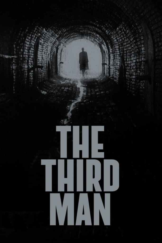 The Third Man cover Carol Reed favorite movie Carter Bennet Cinematic Doctrine