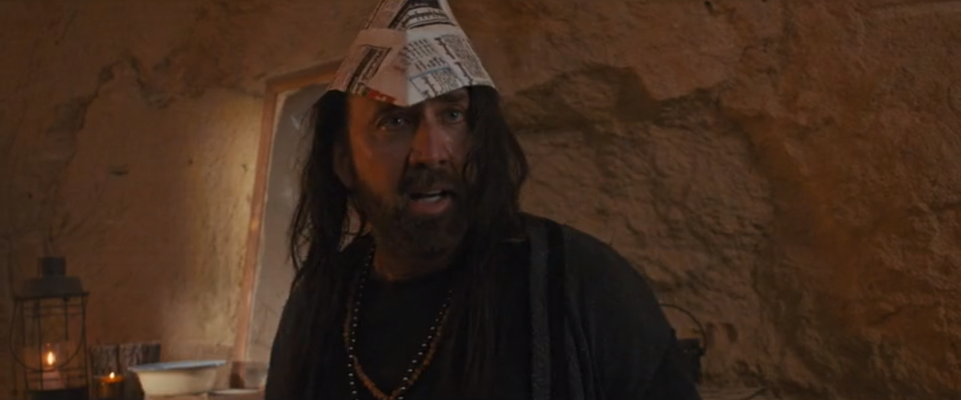 Nicolas Cage in Martial Arts Jiu Jitsu Movie discussed on Christian Podcast Cinematic Doctrine