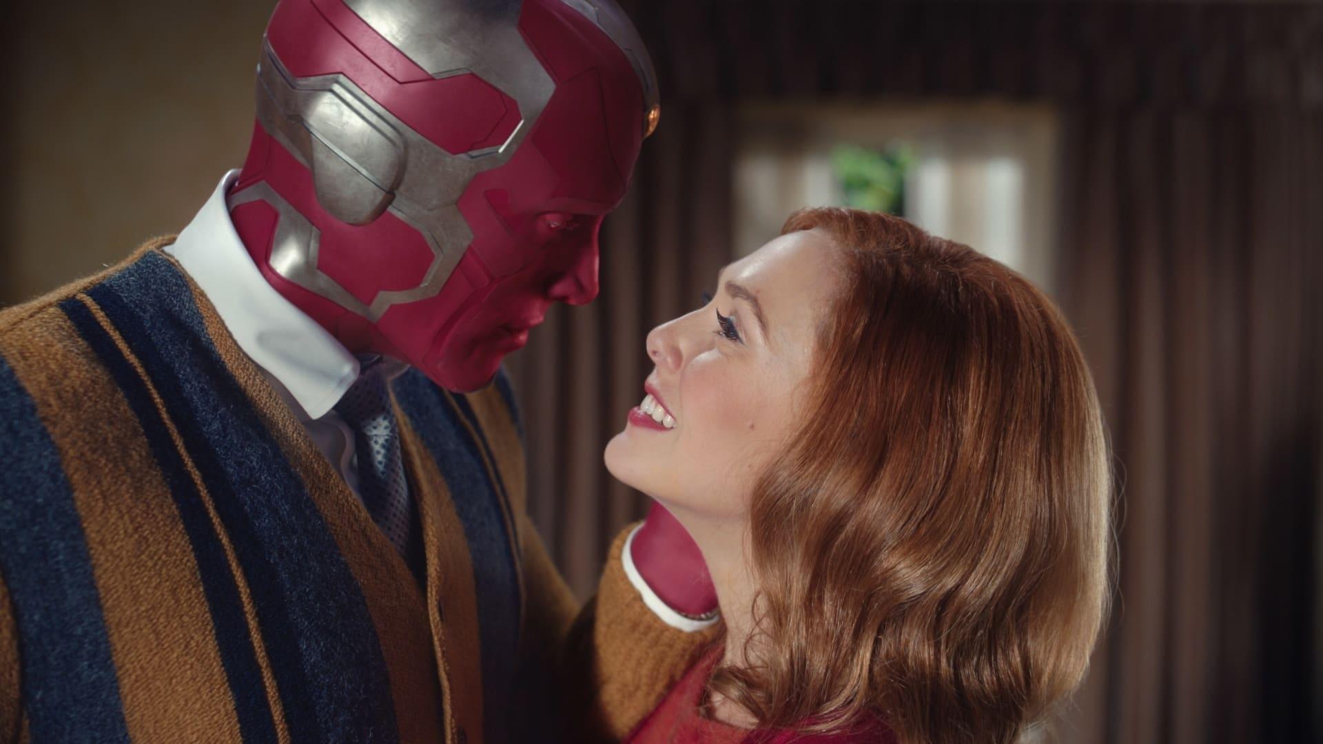 WandaVision Maximoff in Disney Marvel Plus on Cinematic Doctrine Christian Movie Podcast