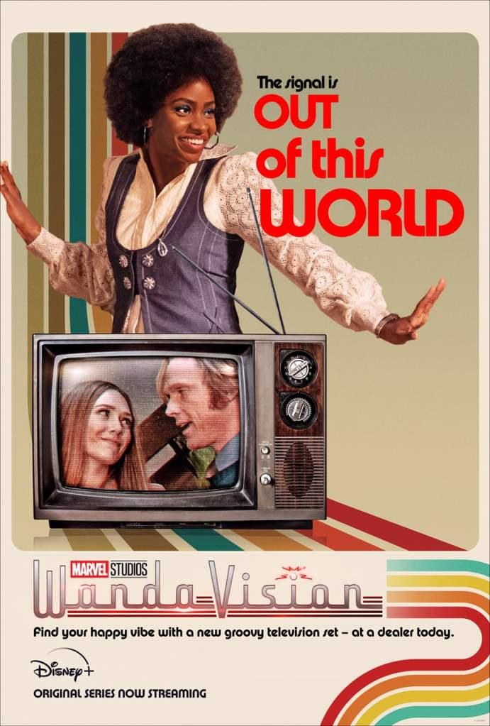 Teyonah Parris as Monica Rambeau Geraldine in Disney Marvel Wandavision on Cinematic Doctrine Christian Podcast