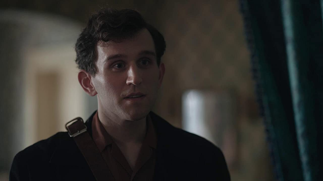 Harry Melling as Harry Beltik in The Queen's Gambit on Netflix on Christian Podcast Cinematic Doctrine