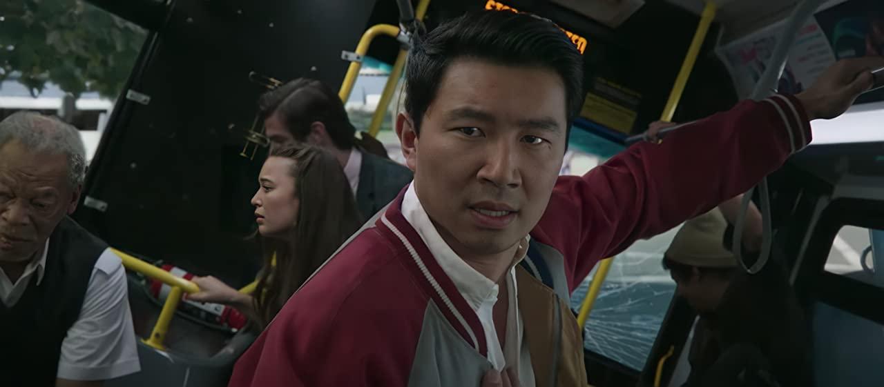 Simu Liu as Shang-Chi in Disney Marvel Ten Rings movie