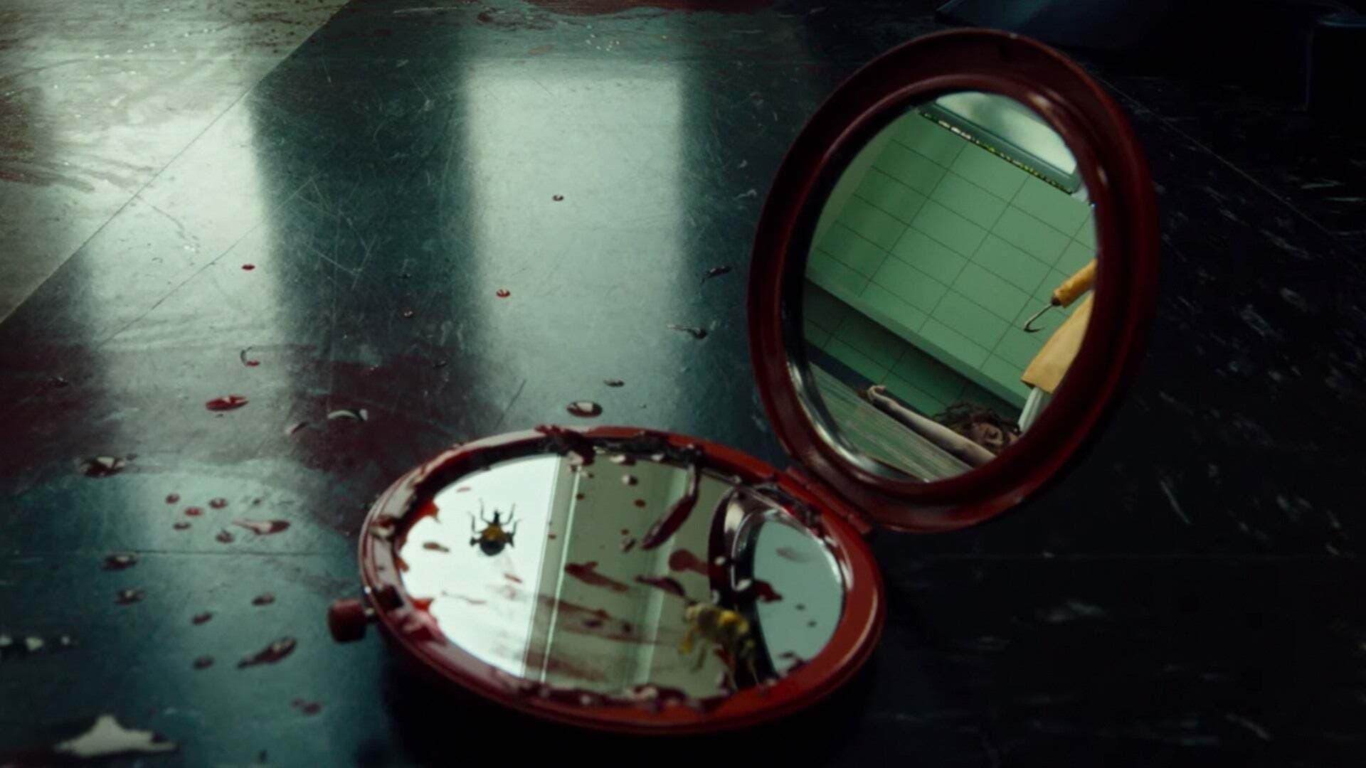 Jordan Peele Candyman 2021 killing college girls in bathroom