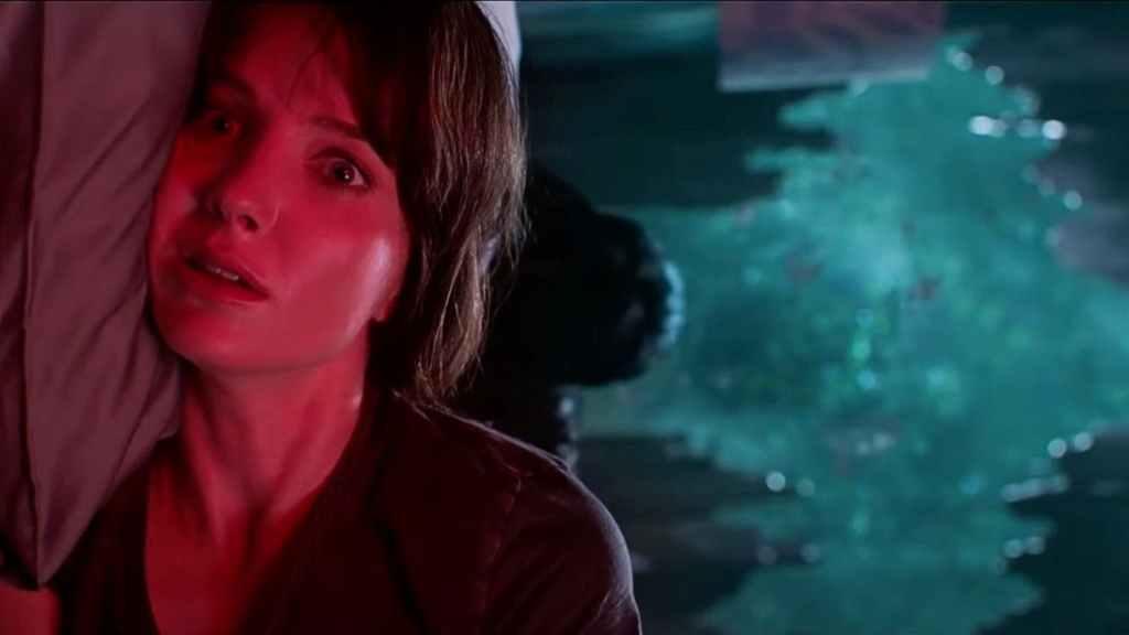 James Wan Malignant horror movie creepy bed scene