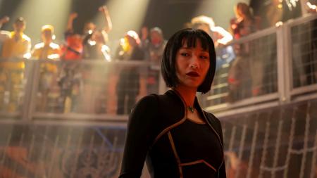 Meng'er Zhang as Xialing in Shang-Chi Ten Rings from Disney Marvel